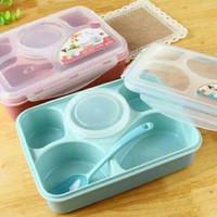 Lunch box Tempat makan yoyee 5 sekat like tupperware