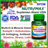Nutrimax Complete Multivitamins & Minerals isi 60 Multivitamin Mineral
