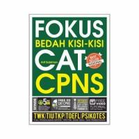 PALING LARIS BUKU FOKUS BEDAH KISI KISI CAT CPNS