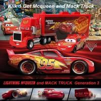 Mainan Anak Cars Lightning McQueen and Mack Truck
