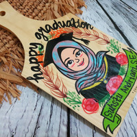 Talenan lukis/ Talenan/ custom/ unik/ handmade/ kado ultah/ souvenir
