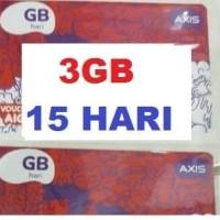 Voucher Vocer Voucer Axis 3gb 15 hari 24 Jam KUOTA 3 GB