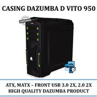 Dazumba Casing CPU PC D-VITO950 D-VITO 950 Casing Tanpa Power Supply