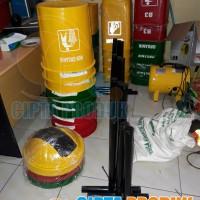 Tempt sampah fiber 3 in 1 tempat sampah organik non organik dan B3