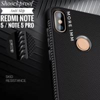 Shockproof Anti Slip Slim Black Matte Case Xiaomi Redmi Note 5 Pro