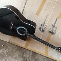 Gitar akustik elektrik murah yamaha