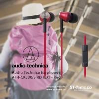 Audio Technica Earphones ATH-CK330iS RD (EX) - Merah