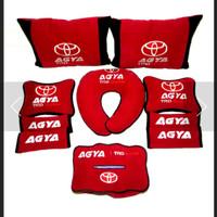 Toyota Agya aksesoris bantak mobil