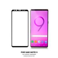 Tempered Glass Warna Samsung Galaxy Note 9 Anti Gores Protector Kaca