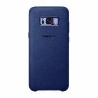 Samsung Alcantara Cover Case for Samsung Galaxy S8 - Blue