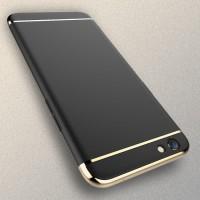 OPPO F3 Plating 3 in 1 | 3in1 Ultra Thin Slim Matte Back Case Cover -