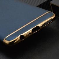 OPPO F5 Plating 3 in 1 | 3in1 Ultra Thin Slim Matte Back Case Cover -