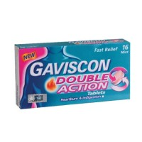 Gaviscon Double Action Tablet 250mg 16 tablet