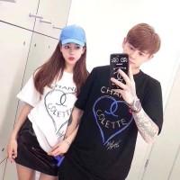 Baju Couple Kaos Oblong Pasangan Soulmate PD Channel 11121