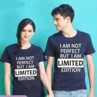 Baju Couple Kaos Oblong Pasangan Soulmate PD Limited 11124