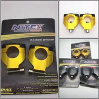 Raiser Nitex Kaki 1 / Peninggi stang merk Nitex kaki 1