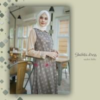 Shakila Dress Oyster Latte size XL by Valisha