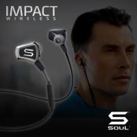 IMPACT WIRELESS High Efficiency Bluetooth Earphone SOUL Black