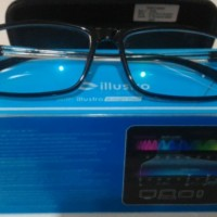 Kacamata Anti Radiasi ORIGINAL ILLUSTRO By Optik Melawai Anti Blue Las