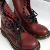 Dr. Martens 1460 W Cherry Red Rouge NWOT