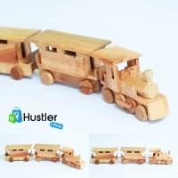 Hiasan Miniatur Pajangan Meja Koleksi Kereta Api Gerbong Kayu