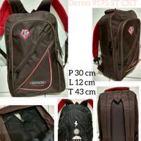 Back pack Ransel laptop/ Tas sekolah/kerja free Raincoat