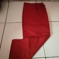 celana merah & hijau panjang SD kls 2-3 UK. 27,28,30