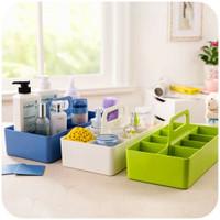 UCHII Stackable Storage Box Organizer   Kotak Kosmetik Sekat Susun