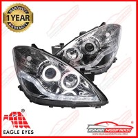 HEAD LAMP - TOYOTA AVANZA 2006-2011 - ANGEL EYES - STARLINE - CHROME