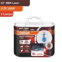 Osram Lampu Mobil H7 NBR Laser 12V 55W - 64210NBL