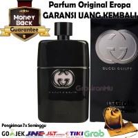 Parfum Original Pria ASLI Eropa Gucci Guilty Intense For Men Hitam O