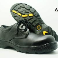 Sepatu Safety Formal Kulit Asli King Arthur