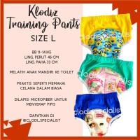 Klodiz Size L 11-14kg Training Pant/ Celana Dalam Latihan Pipis Anak - Cowok