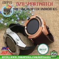 DZ11 Smartwatch Jam Tangan Hp For Android Ios Watch V8 Ori Gold Coklat