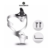 Rockbros 2017-11A Bicycle Bottle Cage Holder - Pegangan Botol SILVER