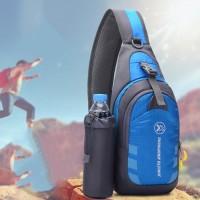 Tas Selempang Multifungsi Sling Bag Olahraga Outdoor Travelling