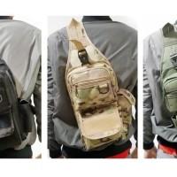 Tas Sling Bag Army Selempang Pria Tactical Military Camouflage