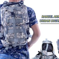 Tas Punggung Ransel Backpack Loreng Tactical Military Army