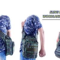 Tas Selendang Selempang - Shoulder Sling Bag - Tactical Army Military