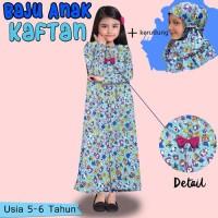 Baju Gamis Anak perempuan model Kaftan karakter usia 5 6 7 8 9 Tahun