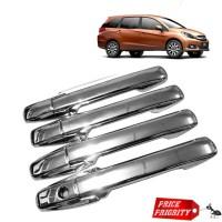 Cover HANDLE SAJA Gagang Pintu Honda Mobilio Brio RS Luxury Chrome