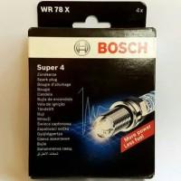 busi bosch super 4 untuk PAJERO 2.4L 1 set isi 4 pcs