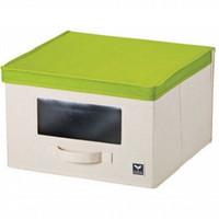 LOCK&LOCK Eco Living Window Box L Green Kotak Penyimpanan LLB246G