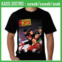 Kaos New Kids on the Block - Merry, Merry Christmas OO21 Oblong Distro