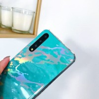 SOFT MARBLE SILICON HUAWEI P20, P 20 BACK COVER CASING CASE