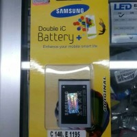 Batre samsung caramel s1272 c140 bronx e1272 c120 c130 champ baterai