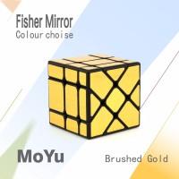 Rubik 3x3 MF Fisher Mirror 3x3 BlackGold Original