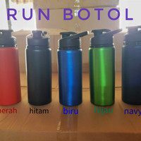 (souvenir/promosi) Run bottle