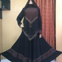 Abaya impor/abaya saudi/abaya umbrella/gamis syar'i