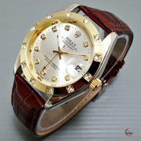 Promo jam tangan pria/cowok rolex automatic premium #ratu gro Murah